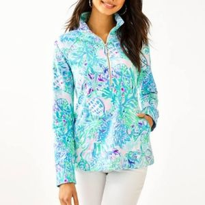 Lilly Pulitzer Skipper Pop Over Sweater